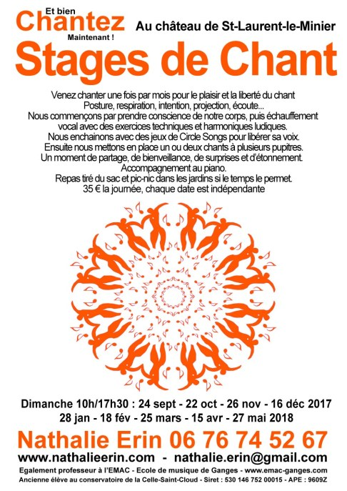 cours de chant circle song2017